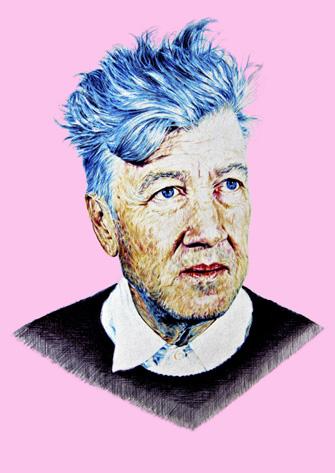 David Lynch - Ballpoint pen study