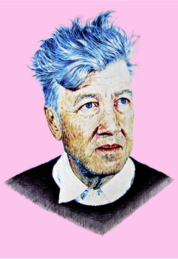 DAVID LYNCH – BALLPOINT PEN STUDY