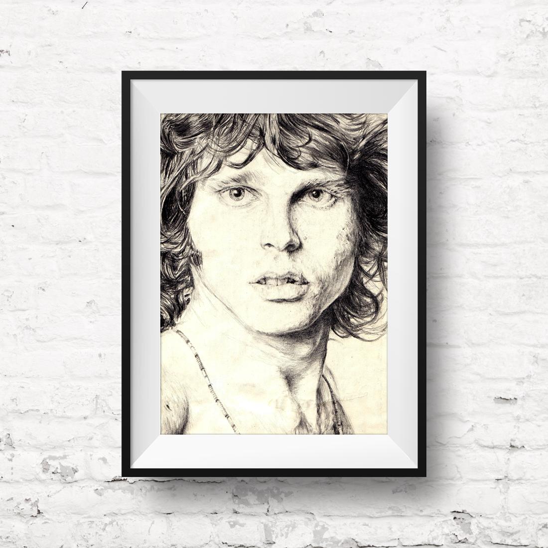 Jim Morrison - Pencil