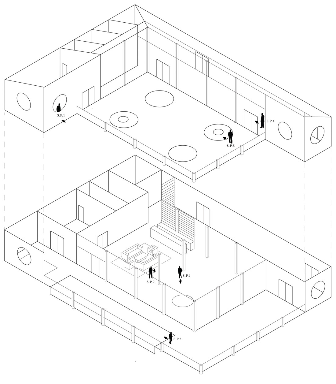 Penthouse Isometric Drawing
